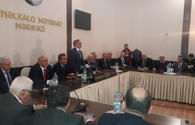 """""""History of one press-conference"""" shown in Baku <span class=""""color_red"""">[PHOTO]</span>"""