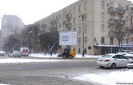Snow expected in Baku