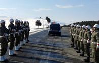 "Soldier Chingiz Gurbanov's body transferred to Azerbaijan <span class=""color_red"">[PHOTO]</span>"