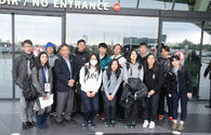 """Japanese athletes arrive in Baku to join FIG World Cup <span class=""""color_red"""">[PHOTO]</span>"""