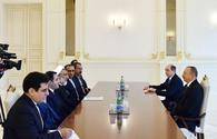 "President Aliyev receives Iranian delegation <span class=""color_red"">[UPDATE]</span>"