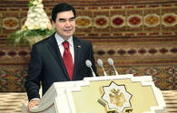 Turkmen President assumes his office