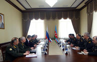 "Azerbaijani minister meets with chief of Russian general staff <span class=""color_red"">[PHOTO]</span>"