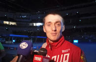 Russian gymnast impressed by World Cup in Baku