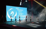 Baku hosts opening ceremony for FIG World Cup in Trampoline Gymnastics and Tumbling (PHOTO)