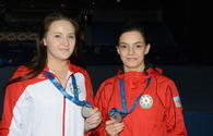 "Azerbaijani trampoline gymnasts grab silver at FIG World Cup in Baku <span class=""color_red"">[PHOTO]</span>"