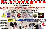 Second Eurasian Kempo Championship due in Baku