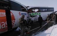 """Eight killed as 2 buses collide in Turkey's Igdir <span class=""""color_red"""">[PHOTO/UPDATE]</span>"""