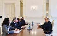 "President Aliyev receives U.S. delegation <span class=""color_red"">[UPDATE]</span>"