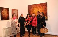 "American artist displays his works in Baku <span class=""color_red"">[PHOTO]</span>"
