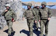Defense Ministry inspects situation on frontline