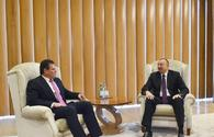 "President Aliyev meets with European Commission VP for Energy Union <span class=""color_red"">[UPDATE]</span>"