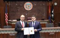 """Arizona House of Representatives condemns Khojaly Genocide <span class=""""color_red"""">[PHOTO]</span>"""