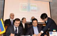 "Azerbaijan, Iran sign two MoUs <span class=""color_red"">[PHOTO]</span>"