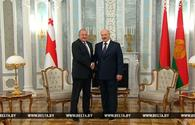 Lukashenko reaffirms interest in deeper cooperation with Georgia