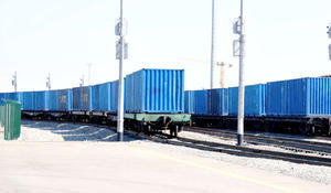 First freight train from Urumqi to Europe arrives in Baku