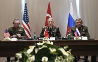 Turkey, Russia, U.S. military chiefs mull Syrian crisis