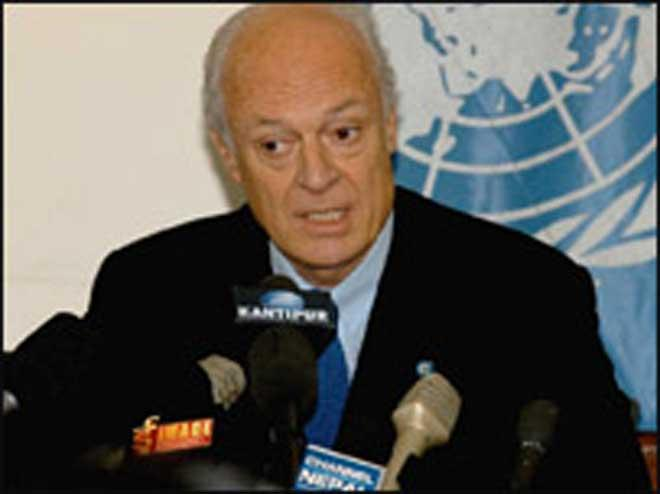 United Nations  envoy says fifth round of Syrian talks set for March 23