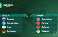 Azerbaijani wrestlers learn rivals for World Cup