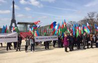 "Rally in support of President Aliyev staged in Paris <span class=""color_red"">[PHOTO]</span>"