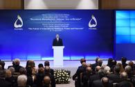 "President Aliyev attends opening of 5th Global Baku Forum <span class=""color_red"">[UPDATE/PHOTO]</span>"
