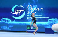 Azerbaijani gymnast glad to get bronze at FIG World Cup