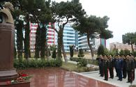 Leadership of Ministry of Defense visits military hospital on occasion of Novruz holiday