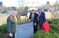 "Karabakh horse monument unveiled in Belgium <span class=""color_red"">[PHOTO]</span>"