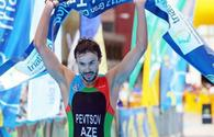 "Azerbaijani triathlete claims European Cup title <span class=""color_red"">[PHOTO]</span>"