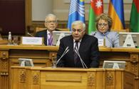 Azerbaijani speaker: Necessary to solve conflicts in post-Soviet space