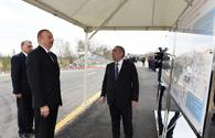 "President Aliyev arrives in Saatli <span class=""color_red"">[UPDATE / PHOTO]</span>"