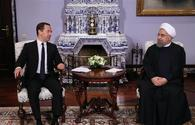 Russian PM expects Rouhani's visit to open new page in bilateral ties