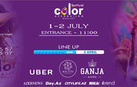 "Don't miss Festival Color Azerbaijan 2017! <span class=""color_red"">[PHOTO]</span>"