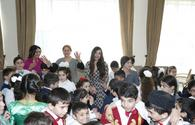 "Leyla Aliyeva visits special boarding schools for physically disabled children <span class=""color_red"">[PHOTO]</span>"