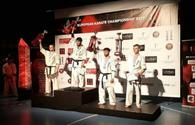 "Azerbaijani kyokushin karate fighter crowned European champion <span class=""color_red"">[PHOTO]</span>"