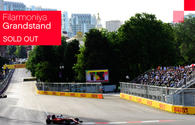 F1 tickets for Filarmoniya Grandstand sold out