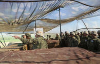 Azerbaijani Army continues military exercises