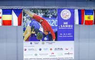 Azerbaijani sambo wrestlers win two medals in Prague