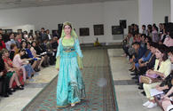 "Azerbaijan's national dresses on show in Tashkent <span class=""color_red"">[PHOTO]</span>"