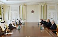 """President Aliyev receives Saudi energy minster <span class=""""color_red"""">[UPDATE / PHOTO]</span>"""
