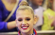 Russian gymnast says to try her best at FIG Baku World Cup finals
