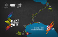 Baku Marathon 2017 to kick off today
