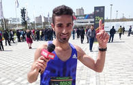 Baku marathon winner: competition was remarkable