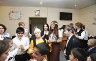 "Leyla Aliyeva visits schools for physically disabled children <span class=""color_red"">[PHOTO]</span>"