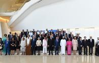 Int'l community comes together in Baku for peace, sustainable development
