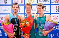 National triathlete wins silver on World Cup