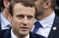 Tonight France opens a new page in history: Macron
