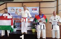 National karate fighters win six European medals