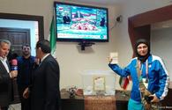 """Iran election: Unprecedented turnout at Baku polling station <span class=""""color_red"""">[PHOTO]</span>"""