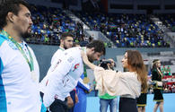 "First Vice-President Mehriban Aliyeva awards winners in wrestling at Baku 2017 <span class=""color_red"">[PHOTO/VIDEO]</span>"